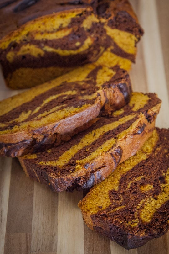 Chocolate Pumpkin Bread. Photo by Irvin Lin of Eat the Love