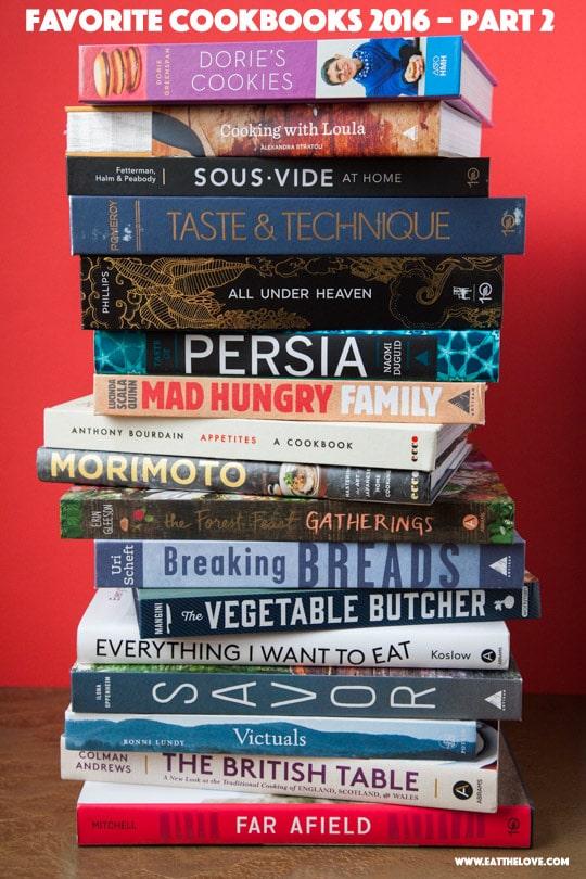 Favorite Cookbooks of 2016 (part 2)