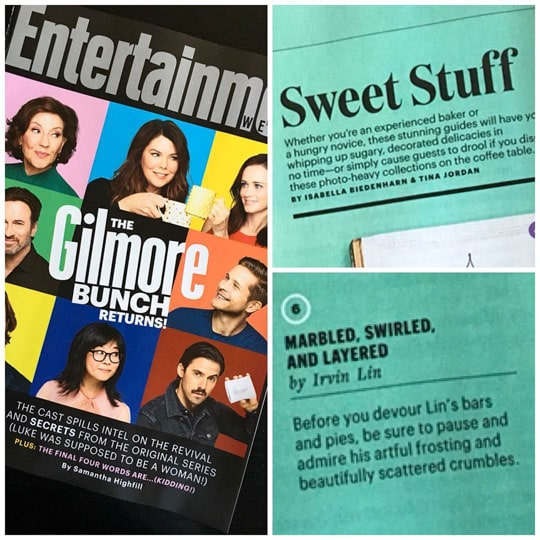 Marbled, Swirled and Layered featured in Entertainment Weekly