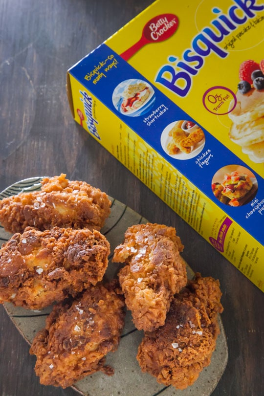 Spicy Cajun Fried Chicken Wings by Irvin Lin of Eat the Love