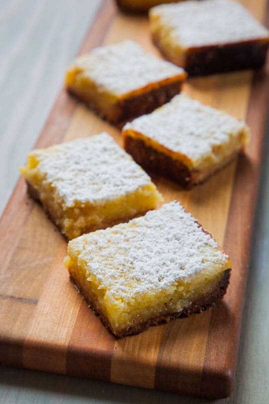 Lemon Lime Bars with Pistachio Crust. Photo and recipe by Irvin Lin of Eat the Love.