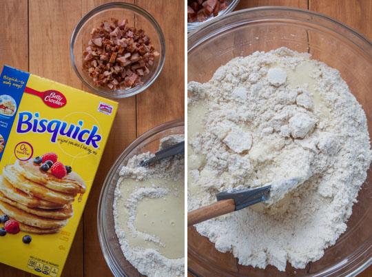 Fold ingredients together.