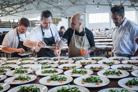 Meals on Wheels: Star Chef and Vintners Gala 2017 (part 2). Photo by Irvin Lin and Alec Bates of Eat the Love