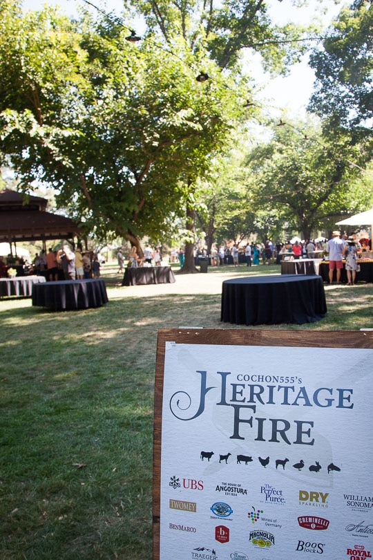 Cochon 555 Heritage Fire Event 2017 in Napa