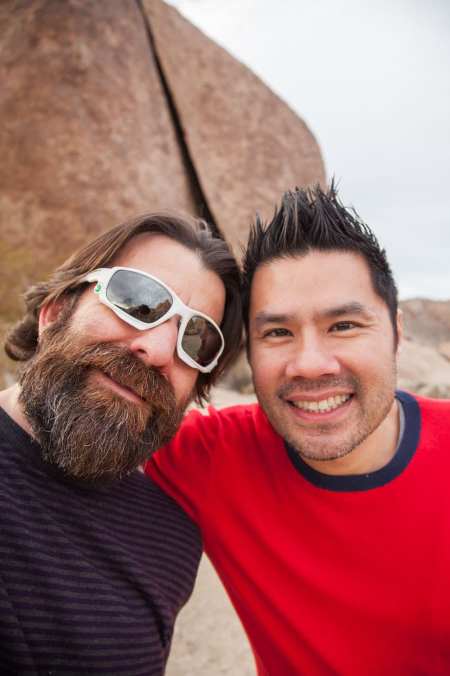 AJ and I at Joshua Tree National Park.