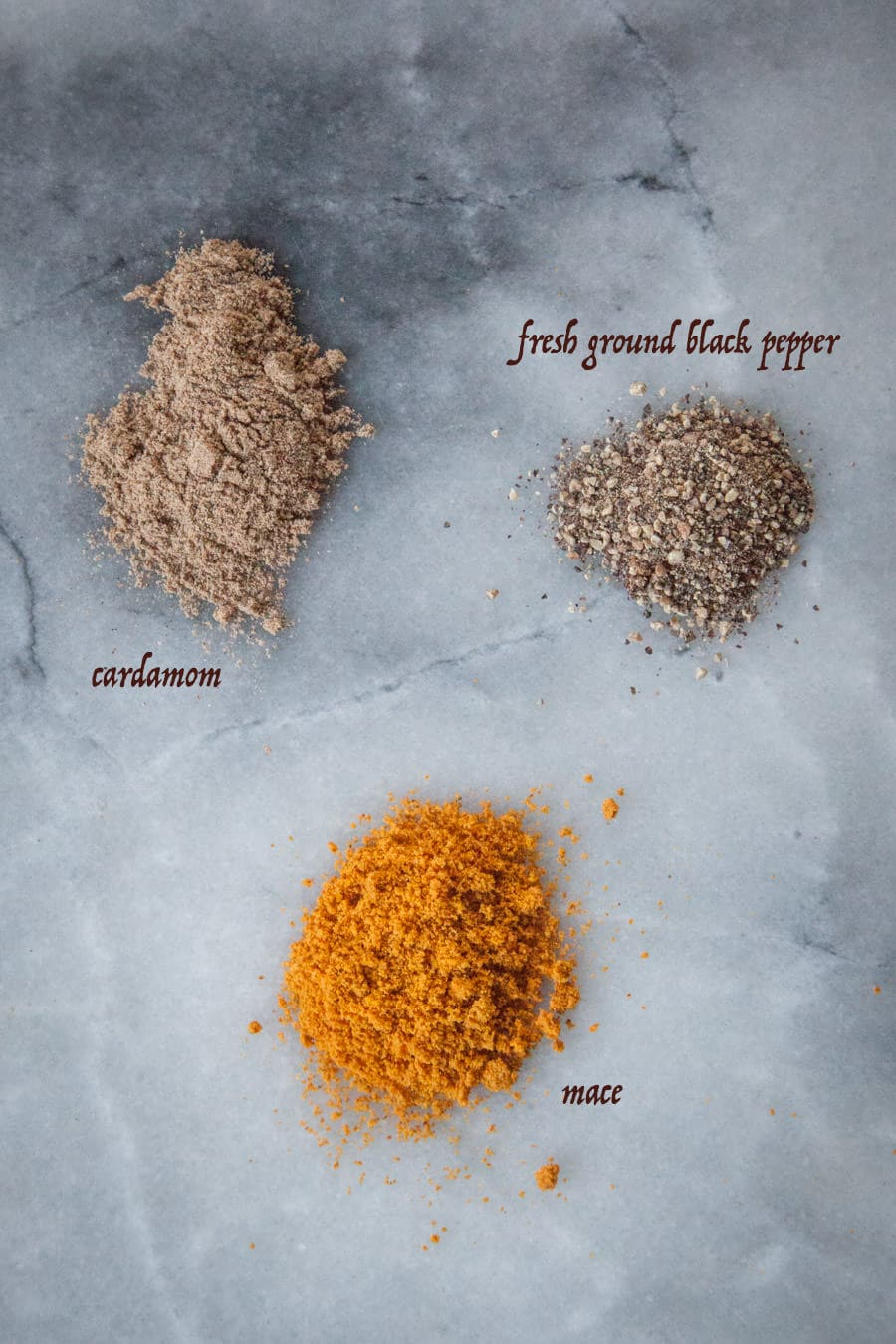 Add cardamom, black pepper or mace to your pumpkin spice.