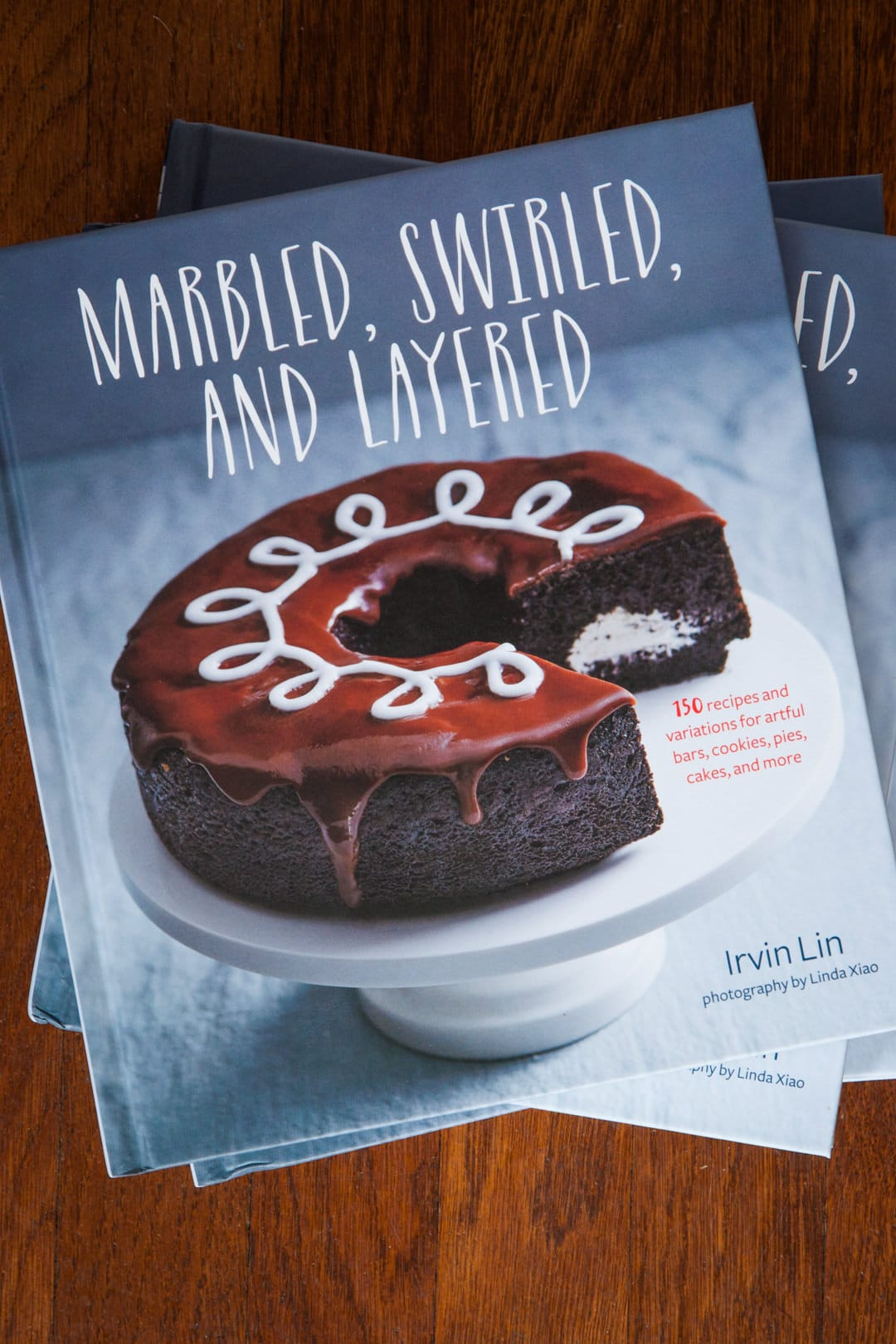 Marbled, Swirled, and Layered Cookbook by Irvin Lin of Eat the Love.