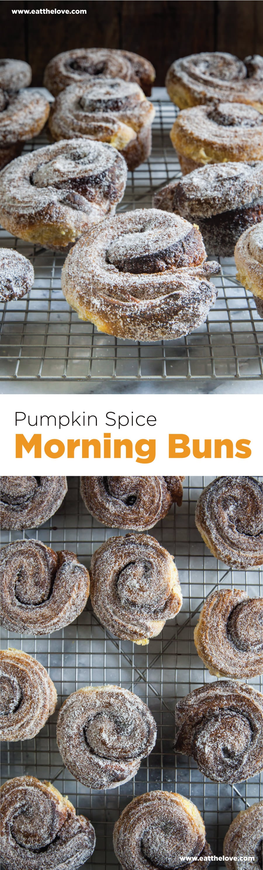 Pumpkin Spice Morning Buns with step-by-step photo instructions by Irvin Lin of Eat the Love.