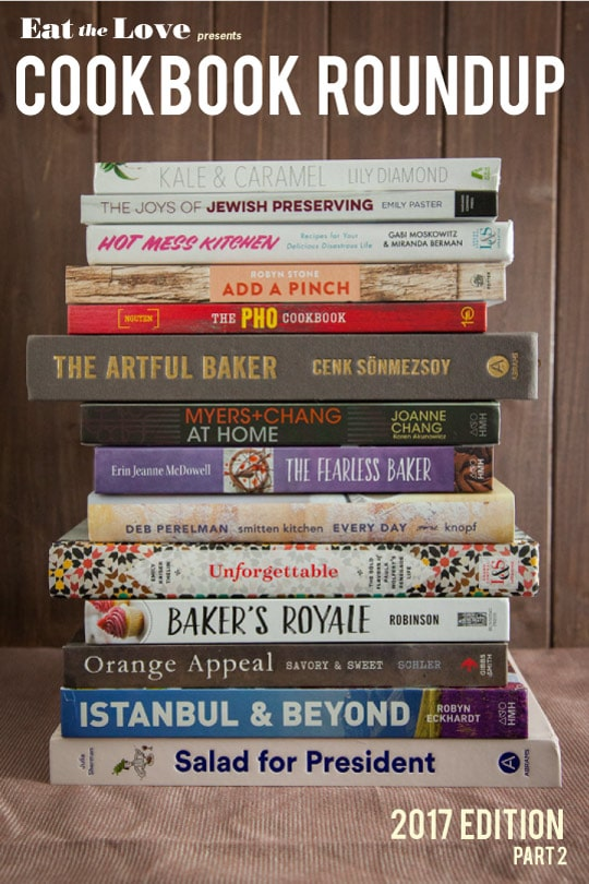 Cookbook Roundup of 2017 (part 2)