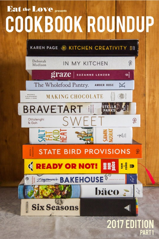 Cookbook Roundup 2017! (part 1)