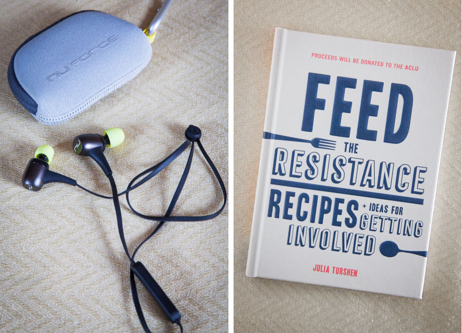 NuForce Earbuds and Feed the Resistance