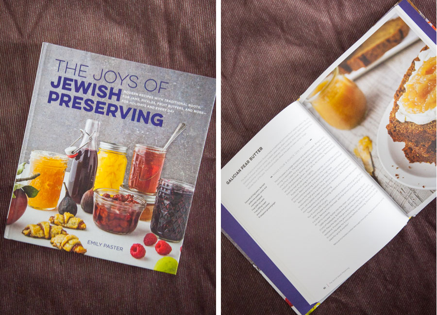 The Joy of Jewish Preserving by Emily Paster