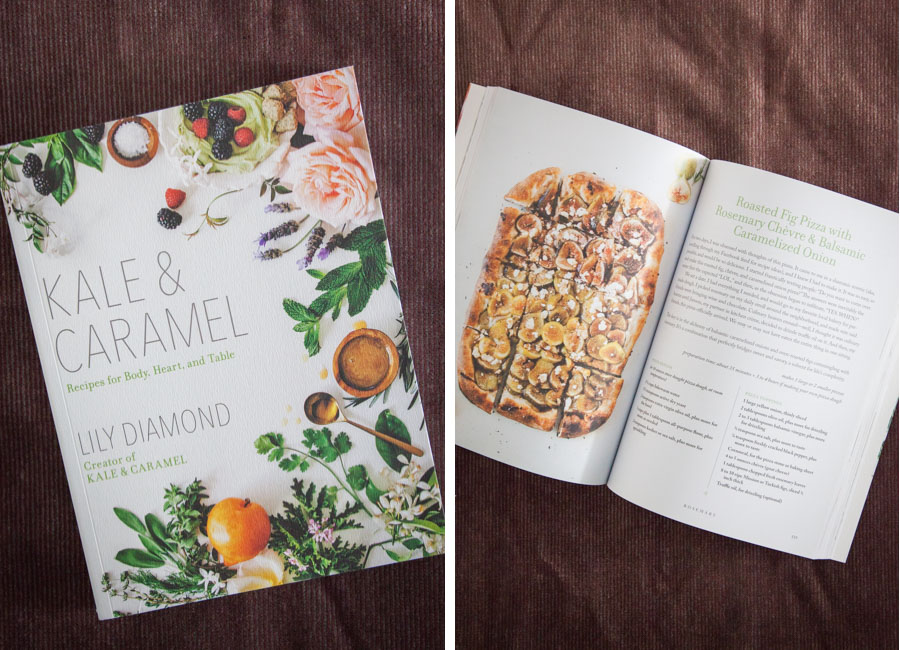 Kale and Caramel cookbook by Lily Diamond