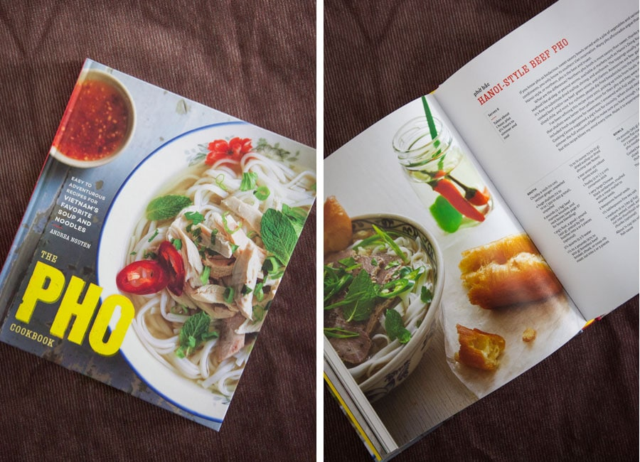 Pho Cookbook by Andrea Nguyen