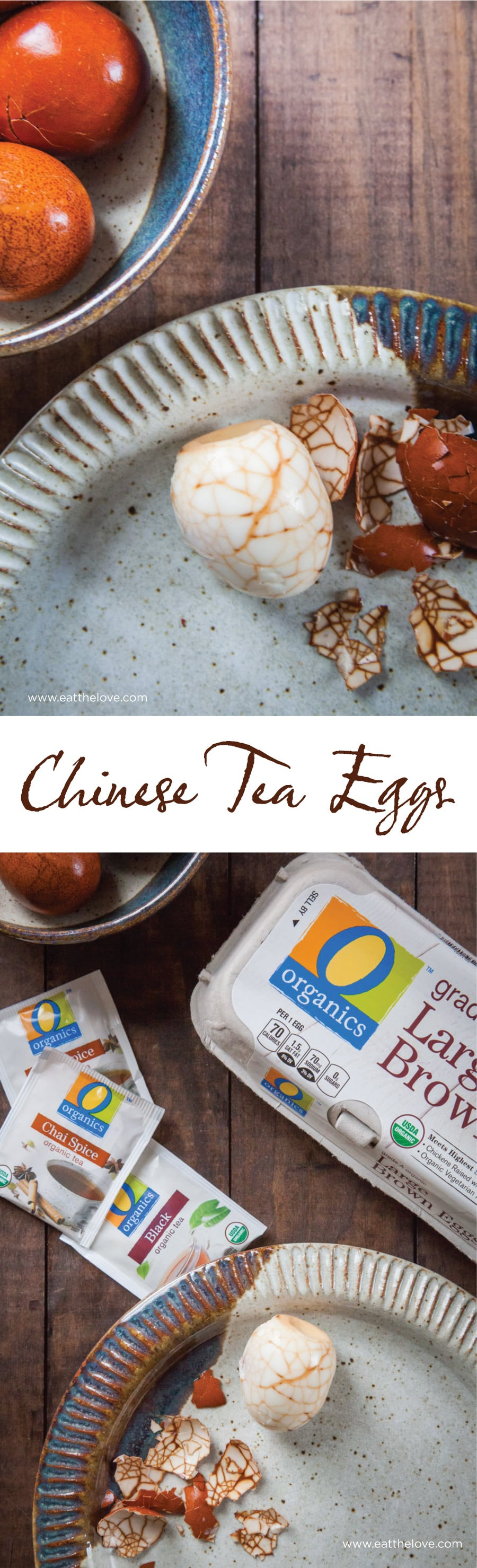 Easy to make Chinese Marbled Tea Eggs. Photo and recipe by Irvin Lin of Eat the Love