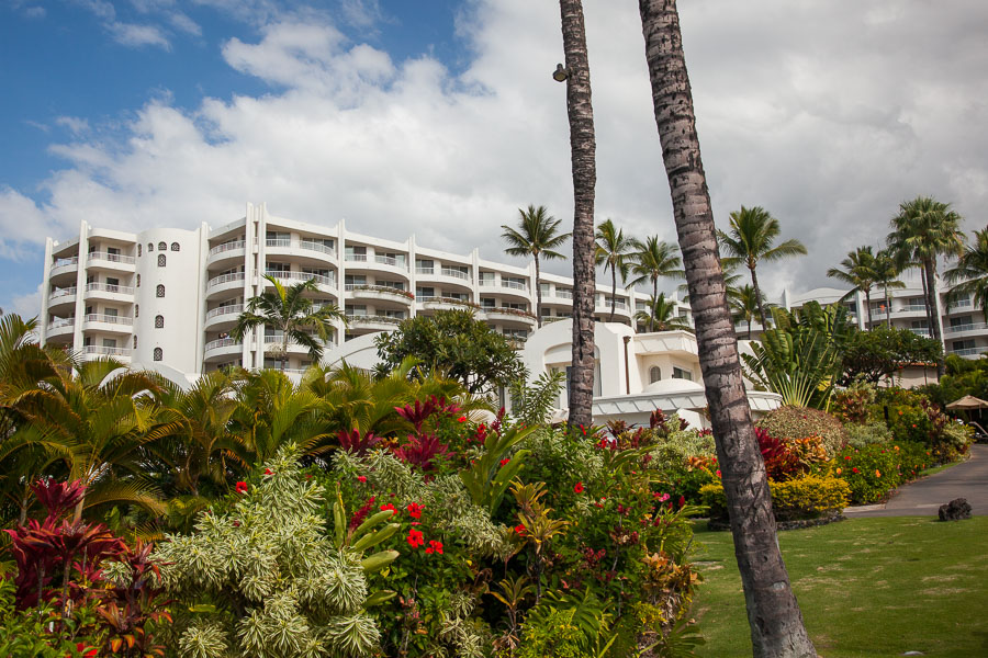 The Fairmont Kea Lani hotel on Maui.