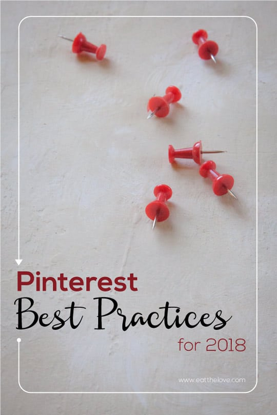 Pinterest Best Practices for 2018