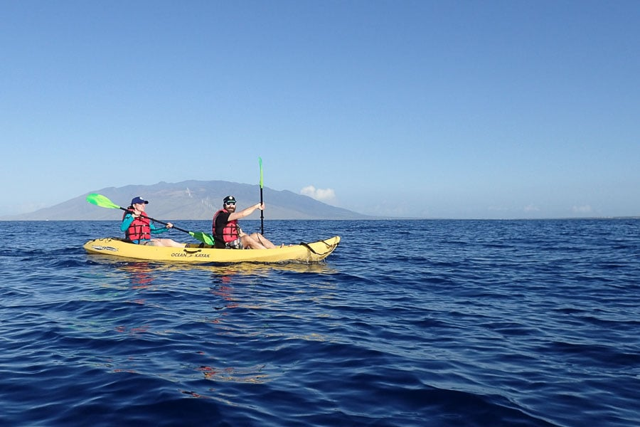 Photo courtesy of Maui Kayak Adventures
