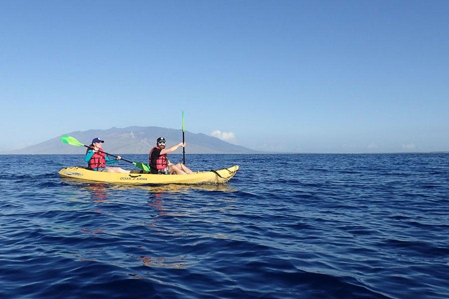 Photo courtesy of Maui Kayak Adventures