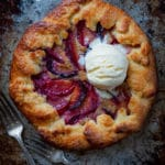 Plum Galette with Almond Frangipane Filling. Photo and recipe by Irvin Lin of Eat the Love.