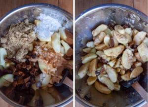 mix all filling ingredients together in a large bowl