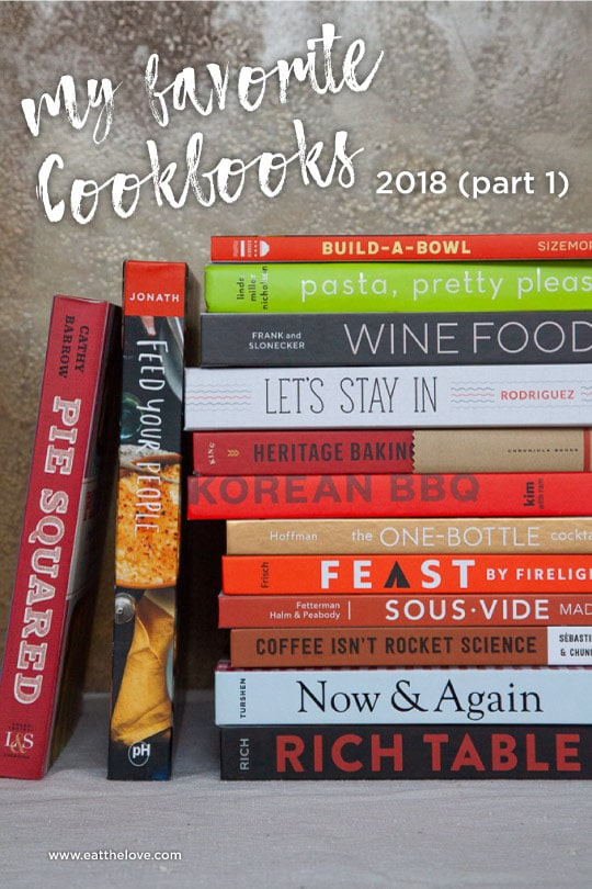 my favorite cookbooks 2018, part 1