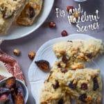 Fig and Hazelnut Scones