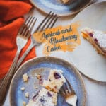 Apricot and Blueberry Cake