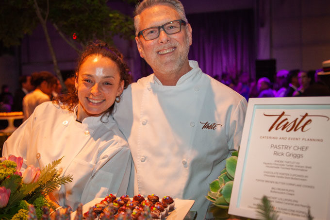 Chef Rick Griggs of Taste Catering at the San Francisco Meals on Wheels Star Chefs and Vintners Gala 2019