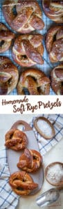 Homemade Soft Rye Pretzels Recipe! #pretzel #softpretzels #yeast #ryeflour #breadflour #recipe #baking #bread