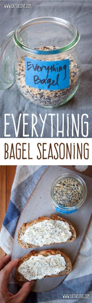 Homemade everything but the bagel seasoning!