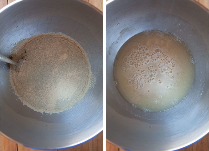 Proof the yeast