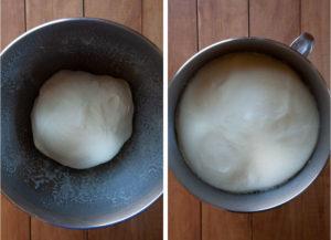Let the dough rise until double