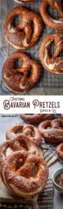 These traditional Bavarian pretzels are dipped in a lye solution to give them a true authentic German Pub flavor. #recipe #bavarian #german #softpretzels #lyepretzels #traditional #authentic #yeast #recipe #pretzel